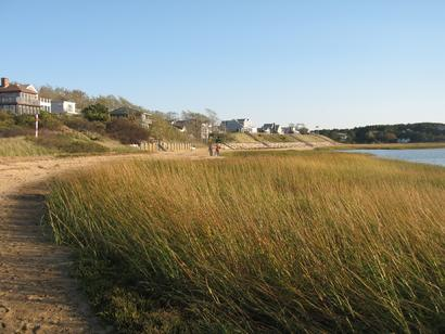 Wellfleet Harbor Beach October 2010